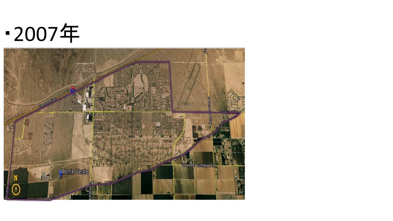 海外不動産(土地)開発投資における開発計画(2007年)